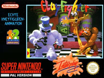 Carátula del juego Clay Fighter (Snes)