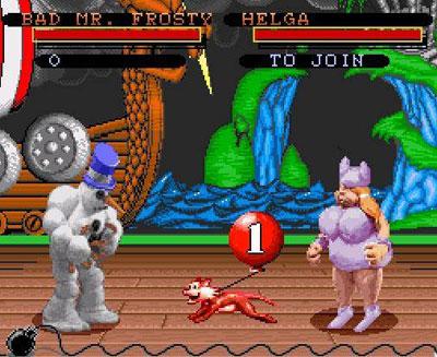 Pantallazo del juego online Clay Fighter (Snes)