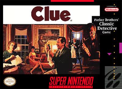 Carátula del juego Clue (Snes)