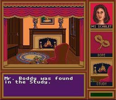 Pantallazo del juego online Clue (Snes)