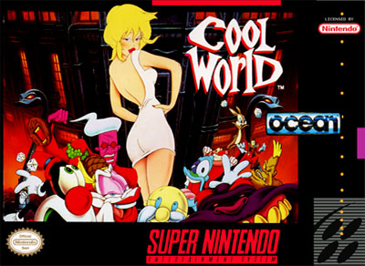 Carátula del juego Cool World (Snes)