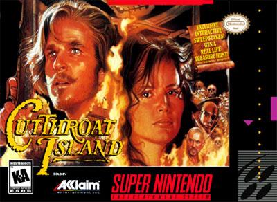 Carátula del juego Cutthroat Island (Snes)