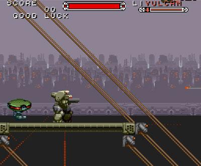 Pantallazo del juego online Cybernator (Snes)