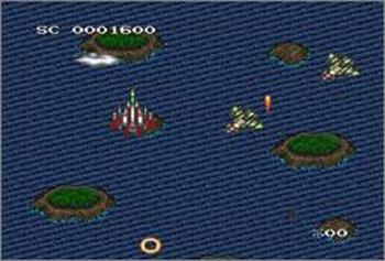 Pantallazo del juego online D-Force (Snes)