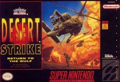 Carátula del juego Desert Strike - Return to the Gulf (Snes)
