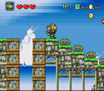 Pantallazo del juego online DinoCity (Snes)