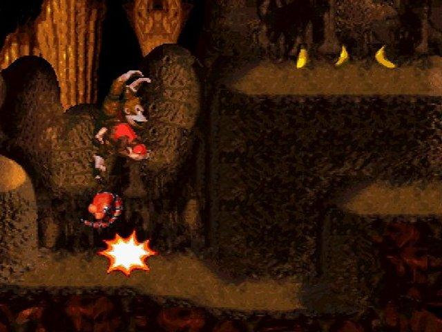 Pantallazo del juego online Donkey Kong Country (Snes)