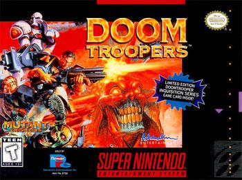 Carátula del juego Doom Troopers (Snes)