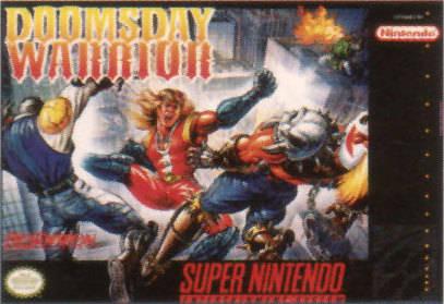 Carátula del juego Doomsday Warrior (Snes)