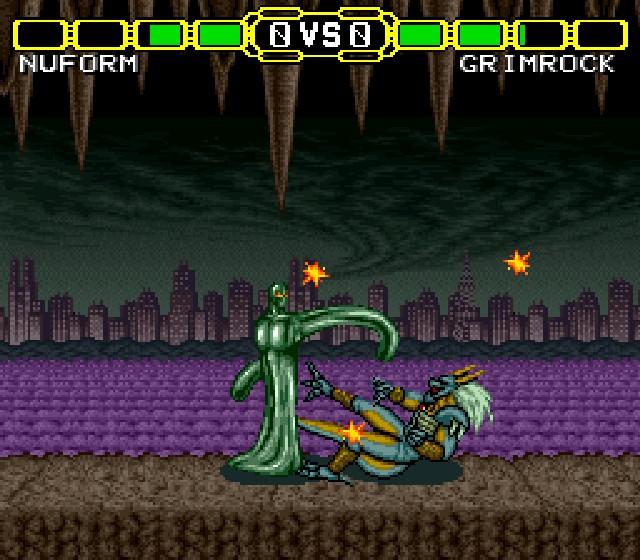 Pantallazo del juego online Doomsday Warrior (Snes)
