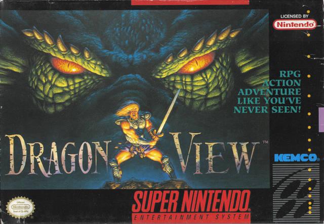 Carátula del juego Dragon View (Snes)