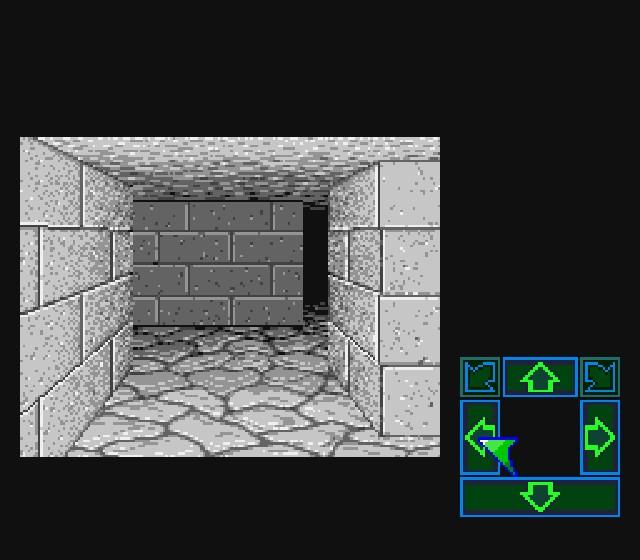 Pantallazo del juego online Dungeon Master (Snes)