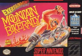 Carátula del juego Exertainment Mountain Bike Rally (Snes)