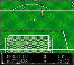 Pantallazo del juego online Elite Soccer (Snes)