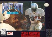 Carátula del juego Emmitt Smith Football (Snes)