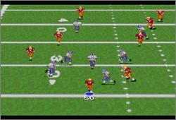 Pantallazo del juego online Emmitt Smith Football (Snes)