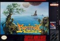 Carátula del juego Equinox (Snes)