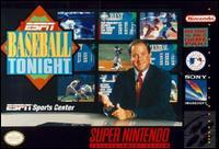 Carátula del juego ESPN Baseball Tonight (Snes)