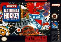 Carátula del juego ESPN National Hockey Night (Snes)