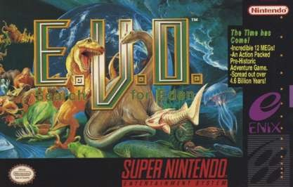 Carátula del juego EVO - The Search for Eden (Snes)