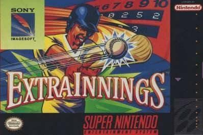 Carátula del juego Extra Innings (Snes)