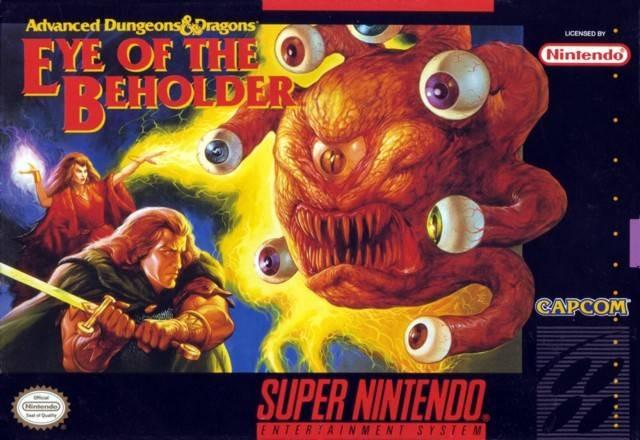 Portada de la descarga de Advanced Dungeons & Dragons: Eye of the Beholder