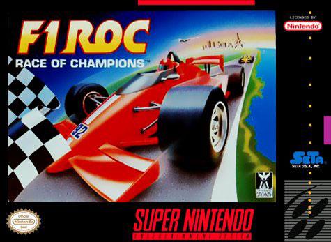 Carátula del juego F1 ROC - Race of Champions (Snes)