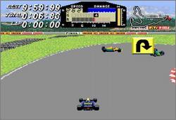 Pantallazo del juego online F1 ROC - Race of Champions (Snes)