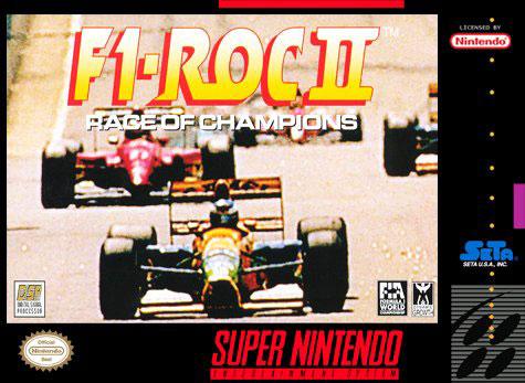 Carátula del juego F1-ROC II - Race of Champions (Snes)