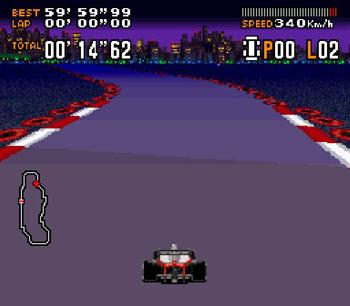 Pantallazo del juego online F1-ROC II - Race of Champions (Snes)
