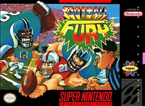 Carátula del juego Football Fury (Snes)