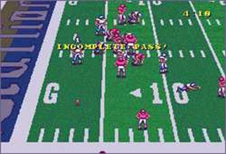 Pantallazo del juego online Football Fury (Snes)