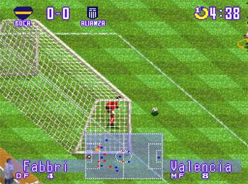 Pantallazo del juego online Futbol Peruano 97 (SNES)