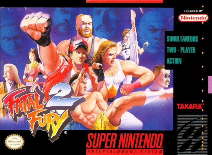Carátula del juego Fatal Fury 2 (Snes)