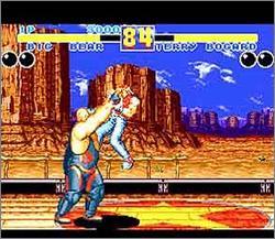 Pantallazo del juego online Fatal Fury 2 (Snes)