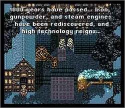 Pantallazo del juego online Final Fantasy III (Snes)
