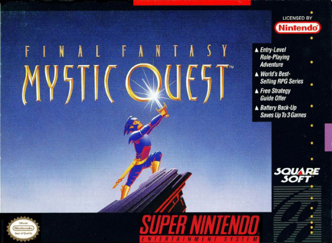 Portada de la descarga de Final Fantasy – Mystic Quest
