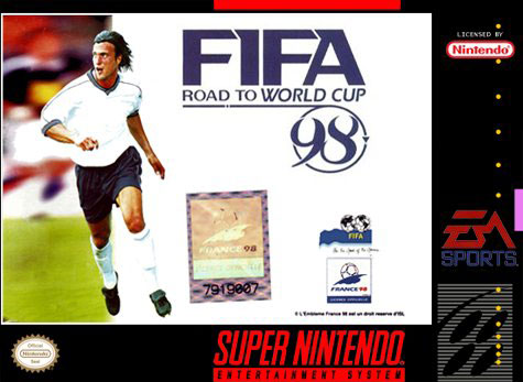 Carátula del juego FIFA Road to World Cup 98 (Snes)