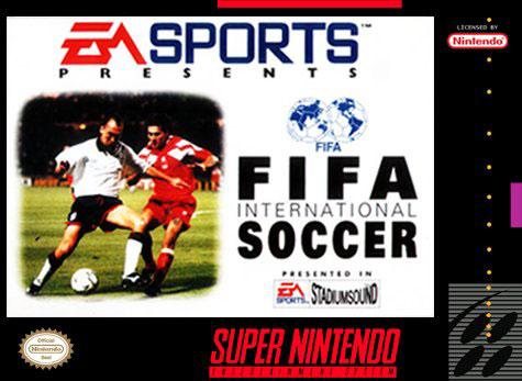 Carátula del juego FIFA International Soccer (Snes)