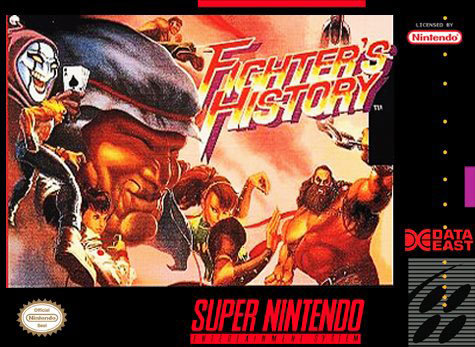 Portada de la descarga de Fighter's History