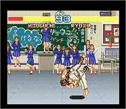 Pantallazo del juego online Fighter's History (Snes)