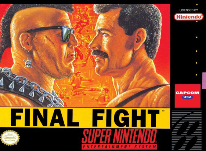 Carátula del juego Final Fight (Snes)