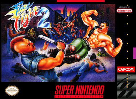 Carátula del juego Final Fight 2 (Snes)