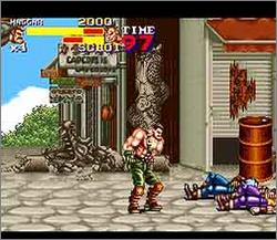 Pantallazo del juego online Final Fight 2 (Snes)