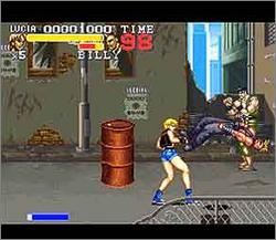 Pantallazo del juego online Final Fight 3 (Snes)