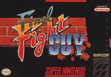 Carátula del juego Final Fight Guy (Snes)