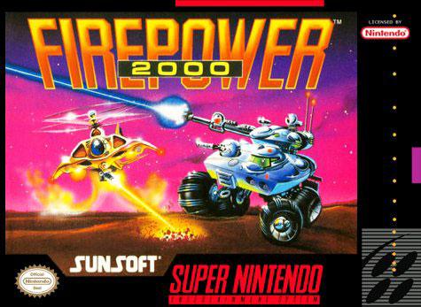Carátula del juego Firepower 2000 (Snes)