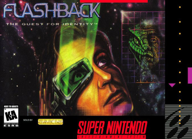 Portada de la descarga de Flashback – The Quest for Identity