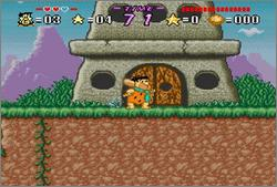 Pantallazo del juego online The Flintstones - Treasure of the Sierra Madrock (Snes)