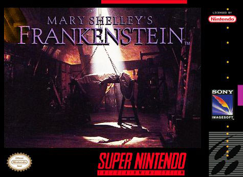 Carátula del juego Mary Shelley's Frankenstein (Snes)